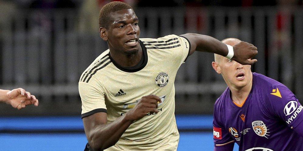 2 - Absen di Laga Pramusim Terakhir MU, Paul Pogba Ngotot ke Real Madrid?