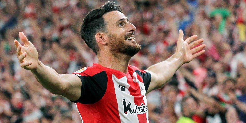 26 - Aduriz Dedikasikan Gol Kemenangan atas Barca untuk Keluarga