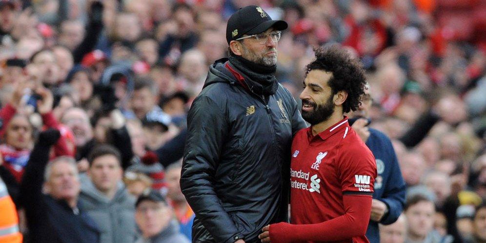 48 - Mo Salah Bongkar Pesan Penting Jurgen Klopp untuk Skuad Liverpool: Lupakan Hal Ini