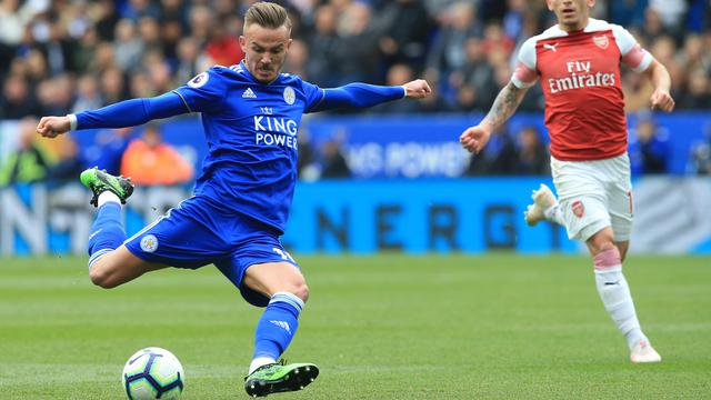 073656100 1556499795 Leicester City Vs Arsenal 04 - Manchester United Kepincut Tebus James Maddison dari Leicester City