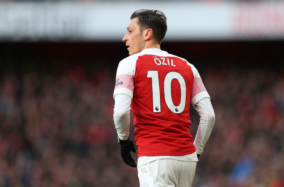GettyImages 11349853491 - Mesut Ozil Akhirnya Ikut Bertanding di Laga Uji Coba Tertutup yang Digelar Arsenal