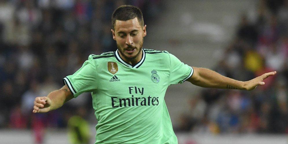 eden hazard 886767d - Eden Hazard Mengaku Tidak Alami Masa Sulit di Real Madrid