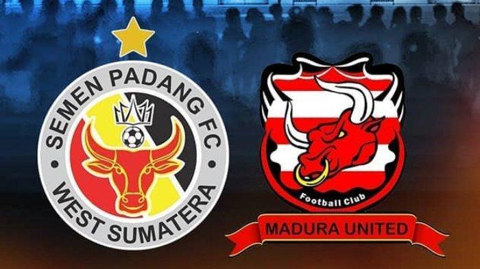 semen padang vs madura united di liga 1 2019 pekan ke 23 - Hasil Pertandingan Semen Padang Melawan Madura United Berakhir Dengan Skor 1-2