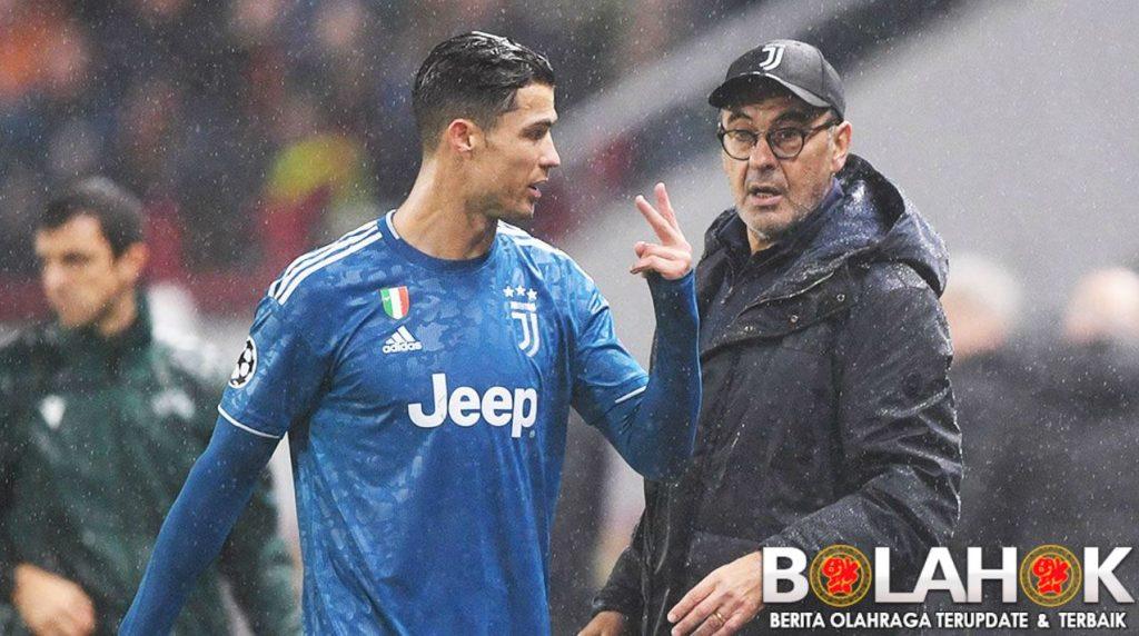 sari 1024x572 - Cristiano Ronaldo Ngamuk Saat Ditarik Keluar Oleh Maurizio Sarri