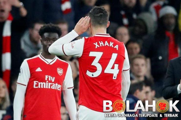 xhakaa - Arsenal Berencana Jual Granit Xhaka di Bursa Transfer Musim Dingin ini