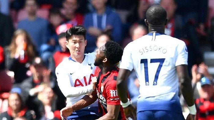 2 2 - Tottenham Hotspur Ajukan Banding, Minta FA Cabut Kartu Merah Son Heung-mi
